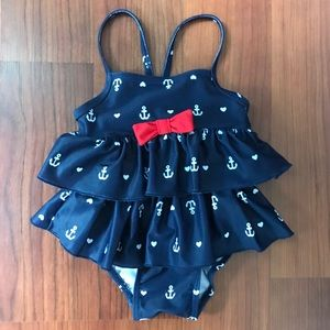 Anchor and Bow swim suit